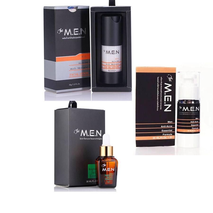 Bộ 3 tiêu diệt mụn và siêu dưỡng da cho nam The M.E.N