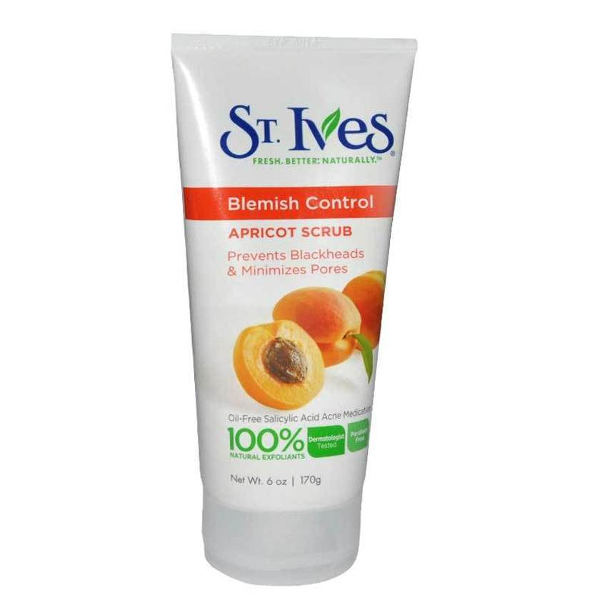Sửa rữa mặt tẩy tế bào chết mơ  Stives Apricot Scrub dành cho con trai 170g