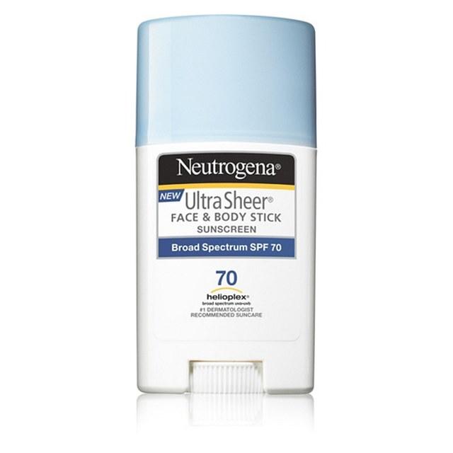 Chống nắng dạng lăn Neutrogena Ultra Sheer Face And Body Stick SPF 70 42g
