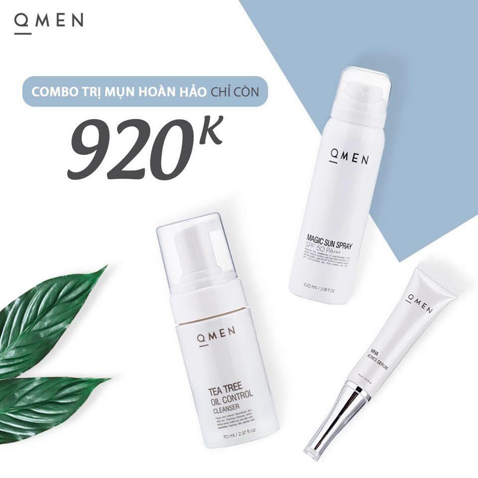 Tuyển tập những combo chăm sóc da cho nam qmen bán chạy nhất